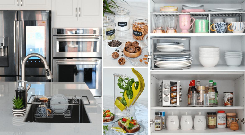Advantages of an organized kitchen